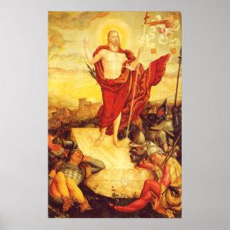 Der-Auferstandene by Lucas Cranach (1558) Poster