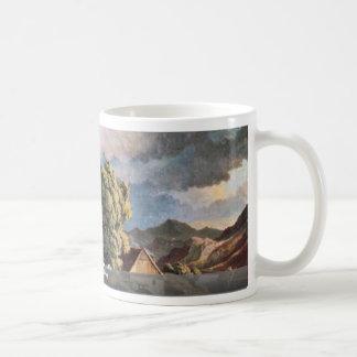 Der Schreckenstein In Usti By Richter Ludwig Coffee Mug