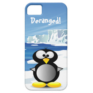 Deranged Penguin iPhone 5 Covers