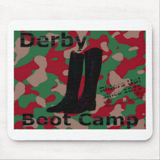 Derby boot camp! mouse pad