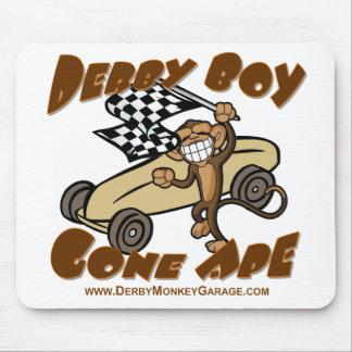 Derby Boy Gone Ape Mouse Mats