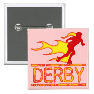 Derby Pinback Button