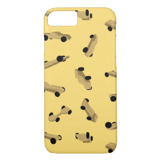 Derby Cars on Gold Case-Mate iPhone Case