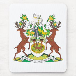 Derby Coat of Arms Mouse Pad