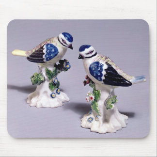 Derby figures of bluetits, c.1760 mouse pad