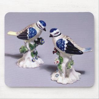 Derby figures of bluetits, c.1760 mouse pad