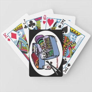 derby for lunch bicycle playing cards