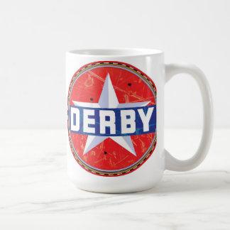 Derby Gasoline sign Coffee Mug