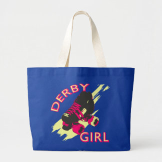Derby Girl Large Tote Bag