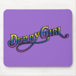 Derby Girl Mouse Pad