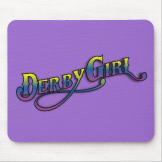 Derby Girl Mousepad