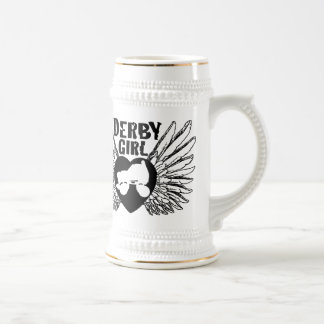 Derby Girl, Roller Derby Beer Stein