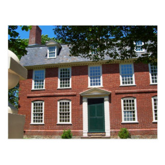 Derby House, Salem, MA Postcard