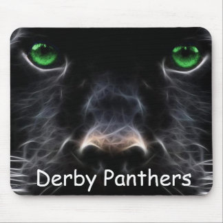Derby Panthers Mouse Pad