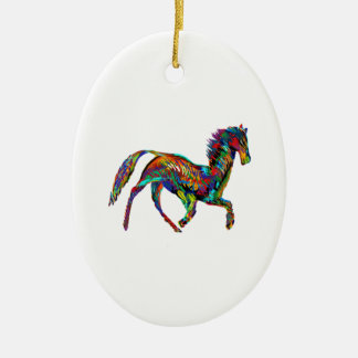 Derby Skies Ceramic Ornament