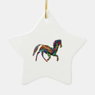 Derby Skies Ceramic Star Ornament