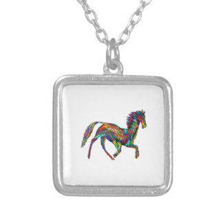 Derby Skies Silver Plated Necklace