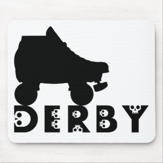 derby : skullphabet mouse pad