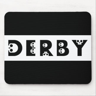 derby : skullphabet mouse pad