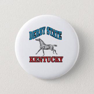 Derby state 2 inch round button