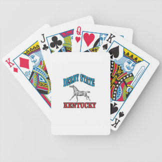 Derby state bicycle playing cards