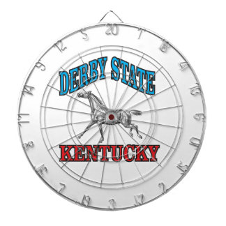 Derby state dartboard