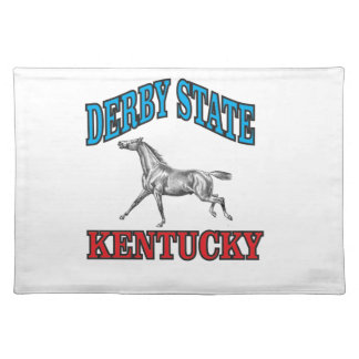 Derby state placemat