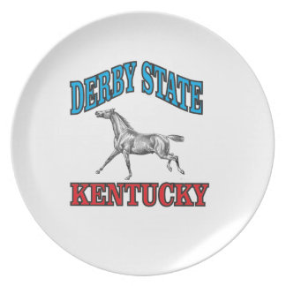 Derby state plate