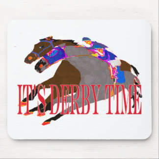 derby time 2016 Horse Racing Mouse Pad