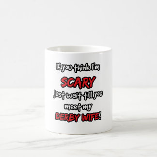 Derby Wife Coffee Mug