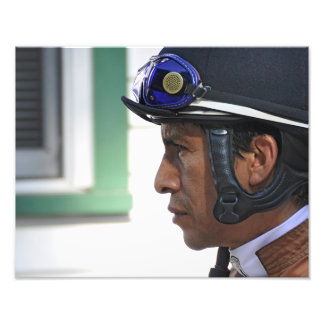 "Derby Winning Rider ""Edgar Prado"" Art Photo"