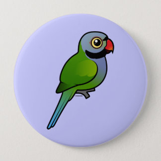 Derbyan Parakeet 4 Inch Round Button