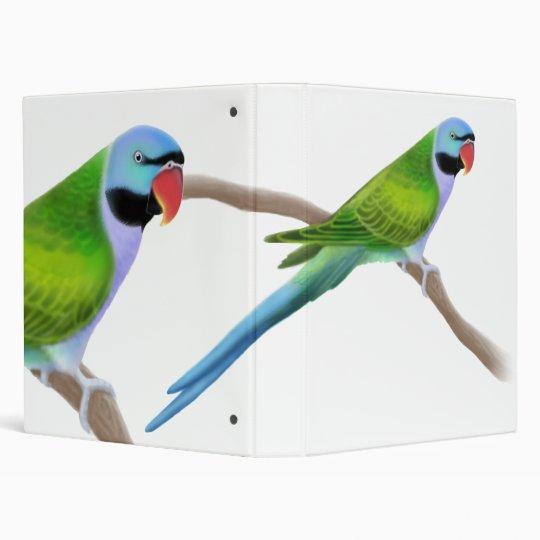 Derbyan Parakeet Avery Binder