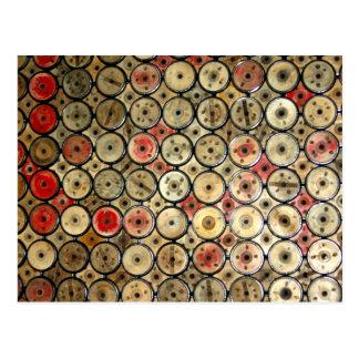 Derbyshire Floor Postcard