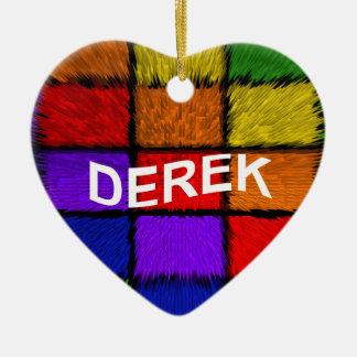 DEREK CERAMIC ORNAMENT