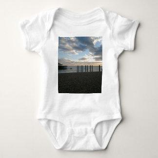 Derelict West Pier Brighton Baby Bodysuit