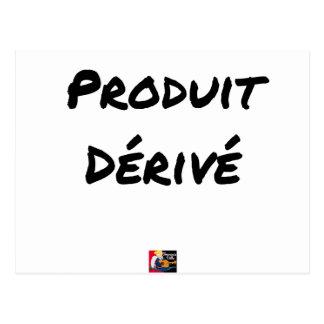 Derivative product - Word games - François City Postcard