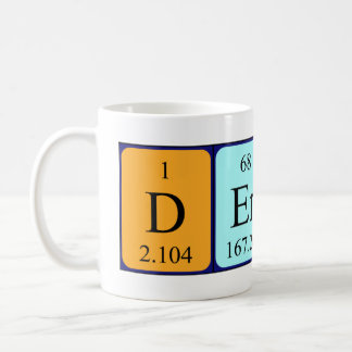 Dermot periodic table name mug
