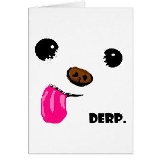 Derp Dog Card