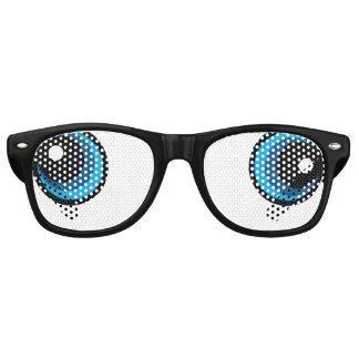 Derp/Drunk Eyes Funny Retro Sunglasses
