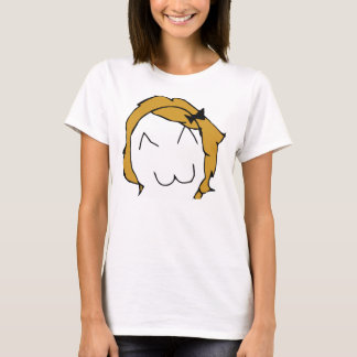 Derpina (Kitteh Smile) - 2-sided Fitted T-Shirt