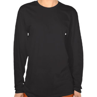 Derpina (Kitteh Smile)- 2-sided Long Black T-Shirt