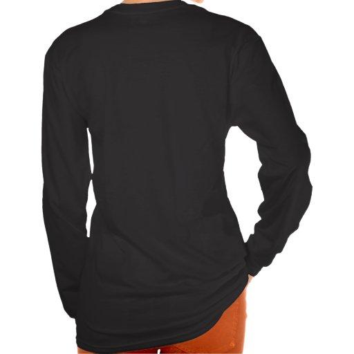 Derpina (Kitteh Smile) - Design Long Black T-Shirt