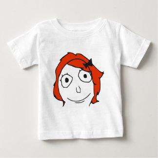 Derpina Red Hair Rage Face Meme Shirt