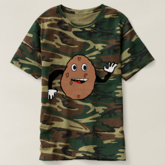 derpy potato camo t-shirt
