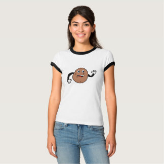 derpy potato on womans t shirt