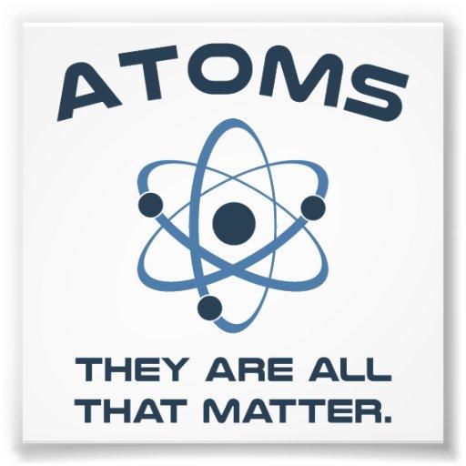 Des atomes ils sont tout ce qui importent photos