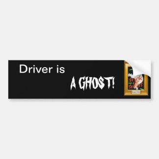 Des bonbons ou un sort fantomatique autocollant de voiture