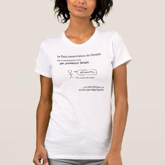 DES Conservateurs d'Éthique de femme de T-shirt