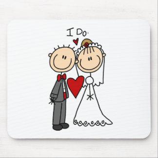 Des couples de mariage je fais le T-shirts et les  Tapis De Souris